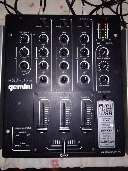 Mixer Gemini Ps3-usb