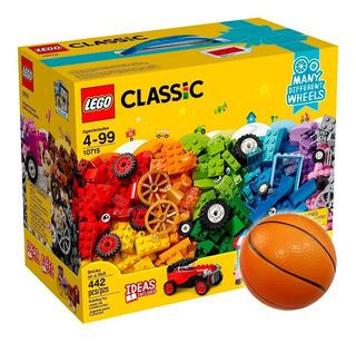 Lego Classic Ladrillos Sobre Ruedas 10715 + Regalo - El Rey
