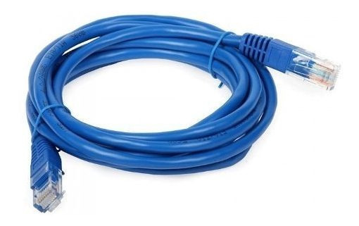 Patch Cord Cable De Red Rj45 A Rj45 Cat5e 3 Metros