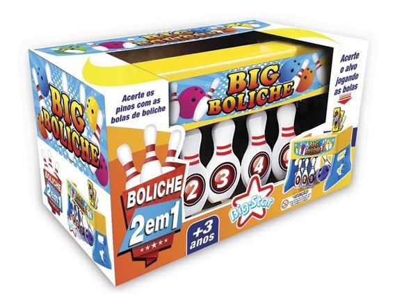 Big Boliche - Jogo De Boliche 2 Em 1 - Big Star