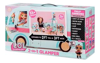 Lol Surprise Caravana Glamper 2 En 1 Con Luz Y Sonido 562511