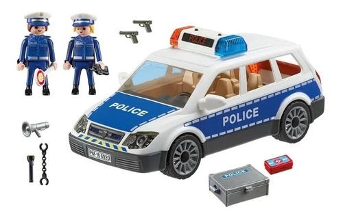 Playmobil Coche Policia Luz/sonido Int 6920 Original Intek