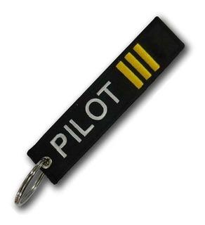 Chaveiro Pilot Com Tres Faixas
