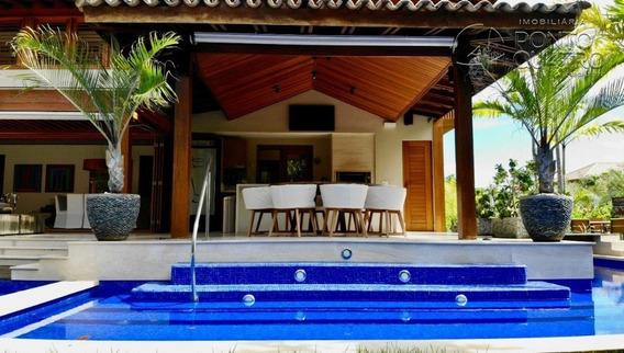 Casa Em Condominio - Praia Do Forte - Ref: 5042 - V-5042