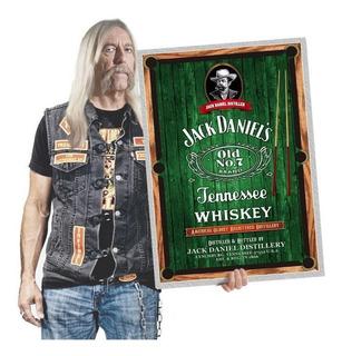 Quadro Decoração Bar Bebidas Whisky Tequila Poster A2 117