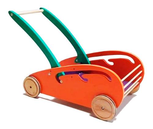 Carrito De Arrastre Madera - Carritos Nenes - Caminador