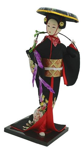 Imagen 1 de 2 de 1 Pieza De Muñeca Hanbok Geisha Set De Juguetes Accesorios