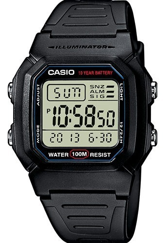 Reloj Casio Core W-800h-1avcf