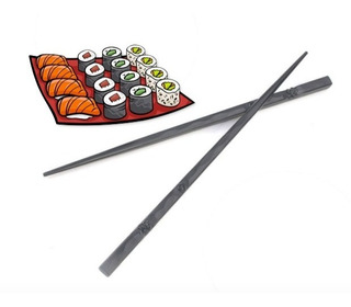 Palillos Chinos Metálicos Comida Japonesa Sushi Xtreme C