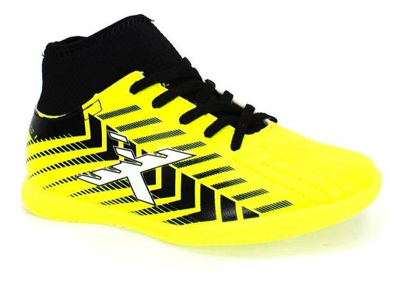 Tênis Indoor Oxn Speed Iii Menino Amarelo Limão