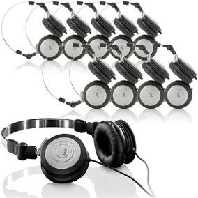 Kit 10 Fones De Ouvido Profissional Akg K414p Mini Headphone