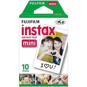 Papel Fotográfico 10 Un Fuji Instax Mini Fuji Film 6,2x4,6cm