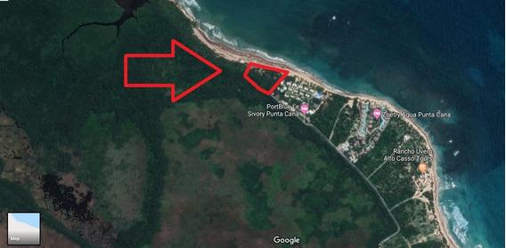 Terreno Para Desarrollo Con 163 M Línea De Playa, Uvero Alto