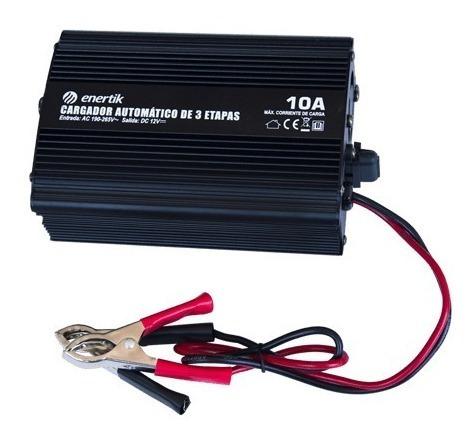Imagen 1 de 2 de Cargador De Baterías De 12v. Capacidad De Carga 10a