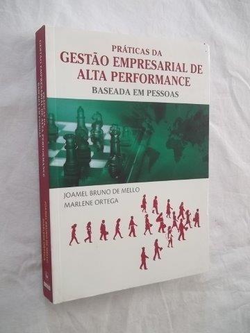 * Livro Gestão Empresarial De Alta Performance Joamel Mello