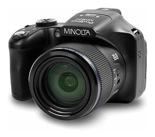 Camara Minolta Pro Shot 20 Mega Pixel Hd Digital 67x Optic ®