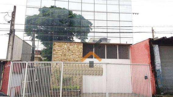 Galpão Para Venda Ou Locação Na Vila Sacadura Cabral, Com 699m², Trifásico E Entrada Para Carreta! -santo André - Ga0014