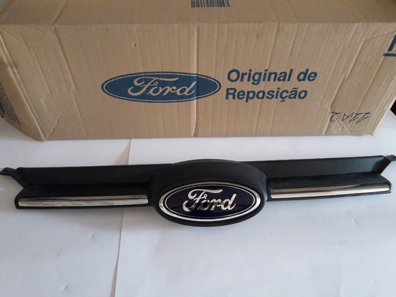 Grade Do Radiador Com Emblema Ford Focus Bm518200be