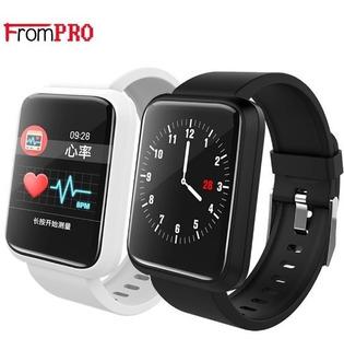 Pulseira Smartband F3 Monitor Cardíaco Pressão Arterial.