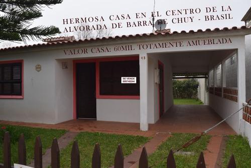 Casa De 2d  En Alvorada. Barra Del Chuy-brasil