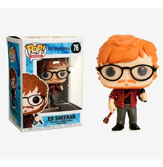 Funko Pop Rocks Music-ed Sheeran 76 (29529)