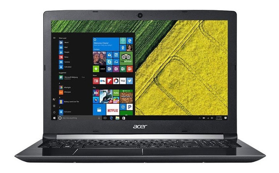 Notebook Acer Intel Core I7-7500u 8gb 1tb Windows 10