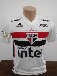Camisa São Paulo Brasileiro 2019 - Fabinho