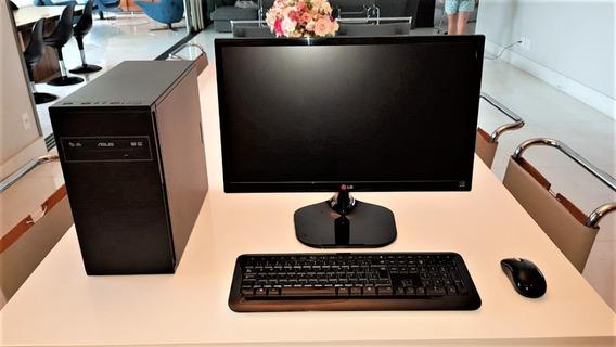 Computador Completo Intel Core I7 + Monitor LG 23 + 16gbram