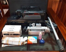Filmadora Sharp Vhs Vl-170 (usada Com Maleta E Acessórios)