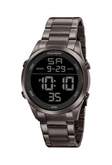 Relógio Mondaine Masculino 53965gpmvse2 Digital Grafitte