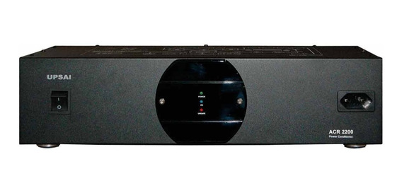 Condicionador Energia Estabilizado Acr2200 3000va 110v Upsai
