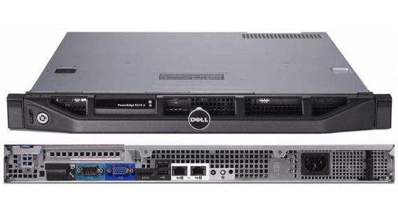 Dell Servidor Poweredge R210 Ii Rack 1u 19 8 Giga 2 Tera