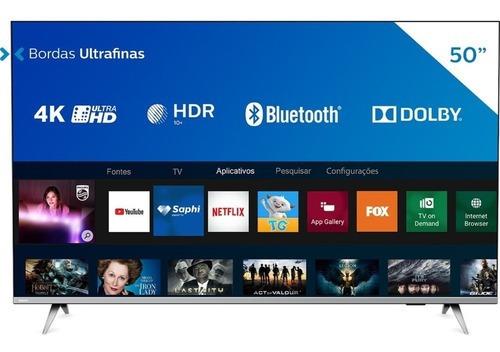 Smart Tv Led Philips 4k 50 50pug6654/78 3 Hdmi 2 Usb Wifi
