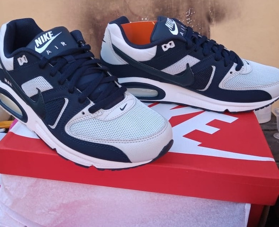 Nike Air Max Command Leather Azul Y Gris, Talle 42.
