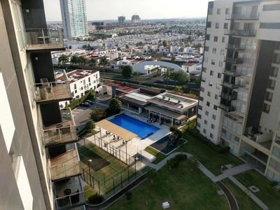 Departamento Juriquilla Planta Baja Jardin Y Estacionamiento
