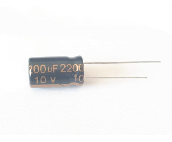 Condensador Electrolitico 2200uf 10v 2200mf -40+105ºc Chc