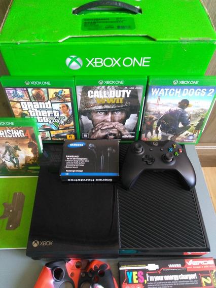 Xbox One 500g Controle + 3 Jogo M. Física + 2 Brinde Barato!