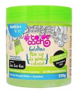 Gelatina Não Sai Da Minha Cabeça Gel Mix 550g Salon Line