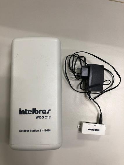 Roteador Wireless (cpe) 2,4ghz 12dbi Wog212 Intelbras