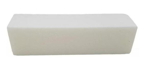 Block Blanco Buffer Para Uñas Esculpidas