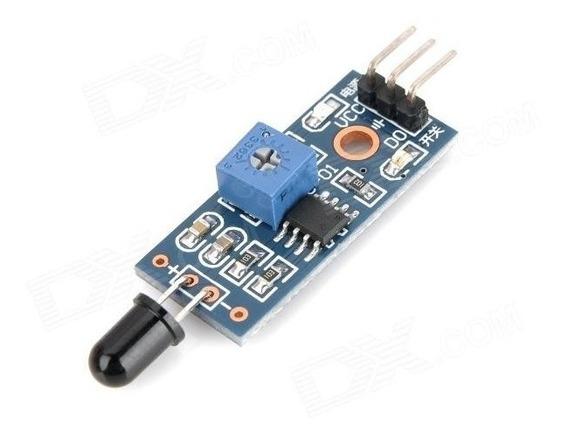 Sensor Detector De Chama Fogo Calor - Arduino Pic Frete R$8