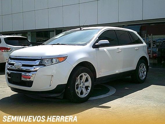 Ford Edge Sel 2013 Blanco