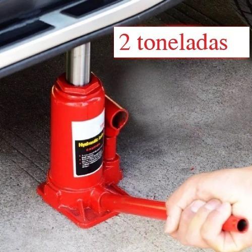 Gata 2 Toneladas Hidráulica Carro Auto  -4 Accesorios
