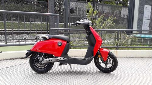 Moto Electrica Super Soco Cux Bosch Scooter En Brm !!!
