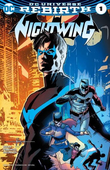 Nightwing #1 (2017) Rebirth Dc Comics