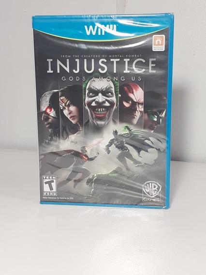 Injustice Gods Among Us Lacrado Americano - Wii U
