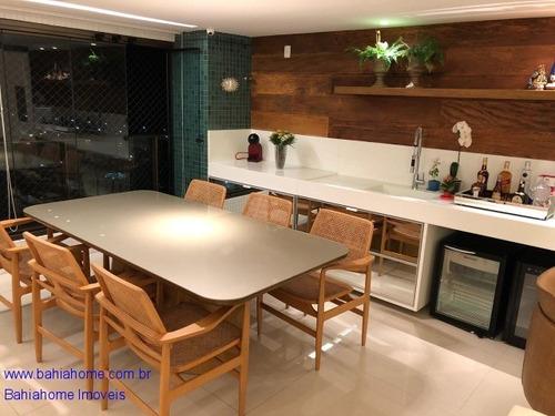 Imagem 1 de 30 de Com Conceito Moderno E Contemporâneo Esse Belíssimo Apartamento Com Três Suítes A Venda Em Patamares - Ap00948ces