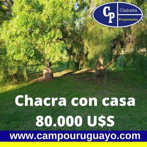 Chacra En Juanicó Con Casa Para 80.000 U$s