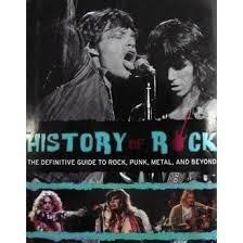 Mini History Of Rock - História Do Rock Importado Em Inglês