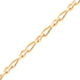Pulseira Infantil Masculina Ouro Amarelo 18k,au 46/06/50